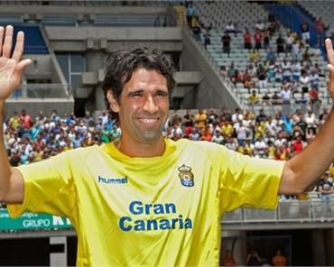 Valerón, presentado en Las Palmas