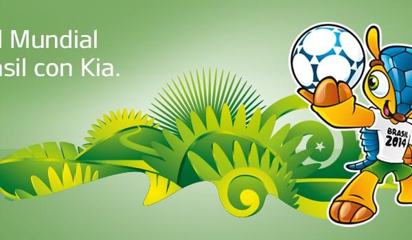 Consigue un viaje al Mundial de Brasil con KIA