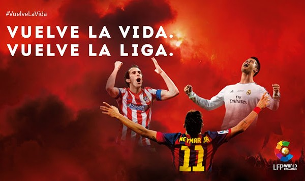¡Empieza la Liga de Fútbol 2014!